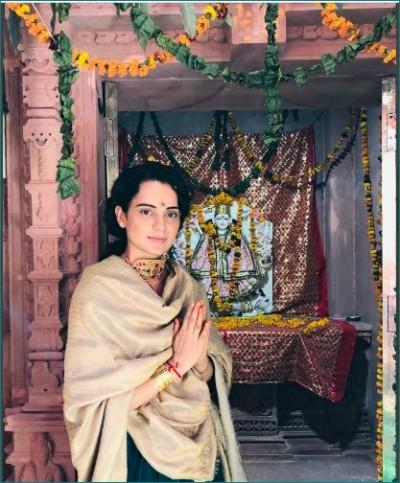 Maa Durga chose me to build her temple: Kangana Ranaut