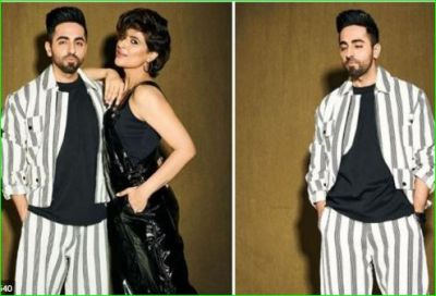 Ayushman Khurana answers his mother by sharing a stylish photo