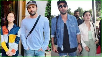 Alia and Ranbir again spotted in Banaras for the shooting of 'Brahmastra'