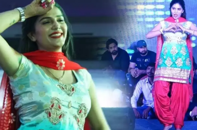 Sapna Chaudhary's fearless dance looted heart, watch video here
