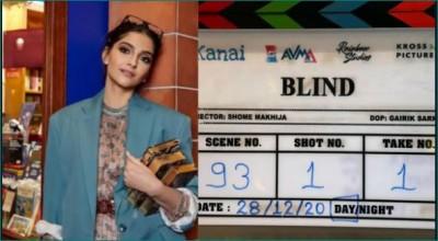 Sonam Kapoor Ahuja starts shooting for her new film