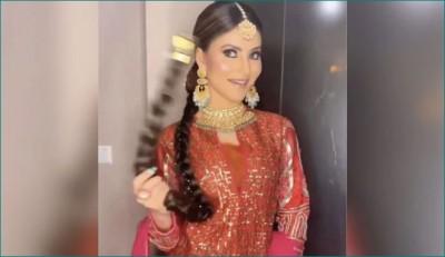 Urvashi Rautela looks gorgeous wearing Patiala suit