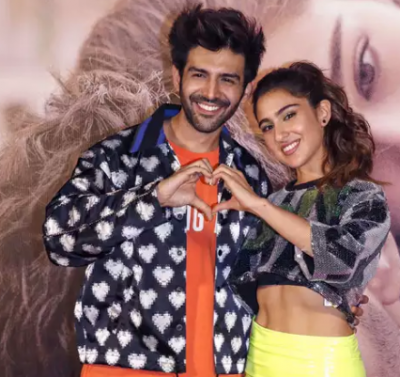 Kartik Aaryan and Sara talk in Gujarati, you will not be able to stop laughing after watching this video