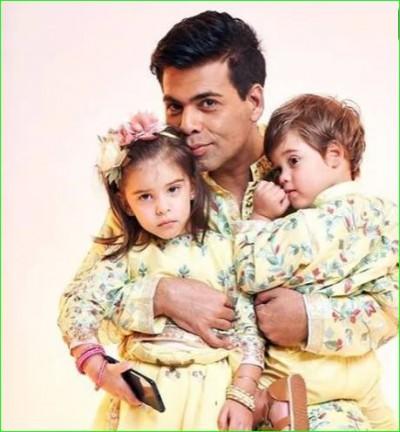 Karan Johar's children makes fun of his body, Kareena-Anushka also pulled his leg