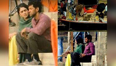 गंगा किनारे चल रही है 'सुपर 30' की शूटिंग सामने आयी तस्वीरें