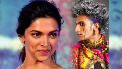 रणवीर के ऐसे अजीबोगरीब लुक पर फ़िदा हुई दीपिका, किया प्यारभरा कमेंट