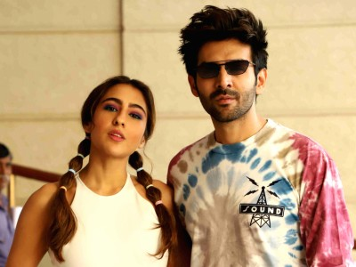 Kartik Aaryan and Sara Ali Khan sharing one plate, check out supercute pic here