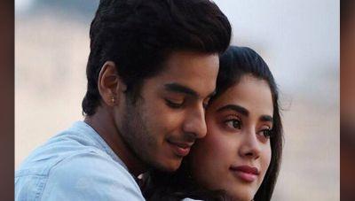 पहली फिल्म से ईशान और जाह्नवी पड़ गए प्यार में