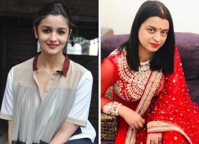 Kangana Ranaut's sister expresses displeasure at Alia Bhatt receiving Filmfare Award