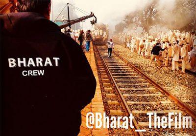Bharat : सेट से आई नई तस्वीर, फिर नहीं दिखे भाई जान