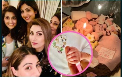 Shilpa Shetty and Raj Kundra welcome baby girl with friends