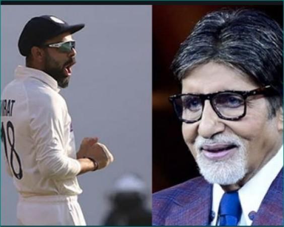 भारतीय क्रिकेट टीम की जीत पर बोले अमिताभ- 'England को धोबी पछाड़ दिया'