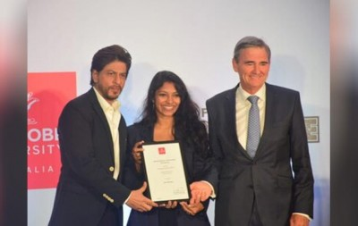 This student got the first scholarship started in the name of Shahrukh Khan
