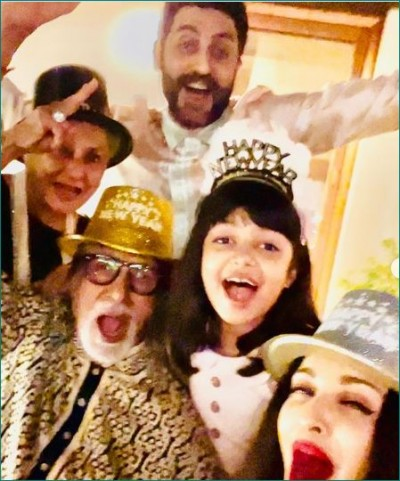 Happy New Year: Sonam Kapoor is 'ready to take on 2021', Bachchan family also celebrates New Year