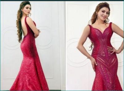 Urvashi Rautela's dress took 150 hours to prepare, its price will blow your sensse
