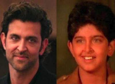 Hrithik's film career started at the age of six, working in four films with his father