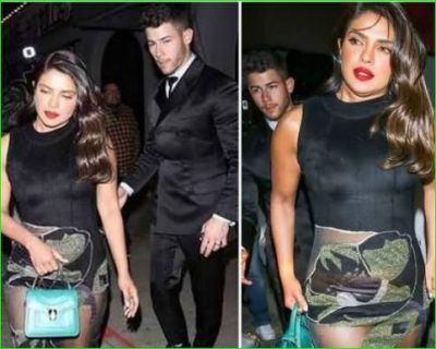 Priyanka's bag saved her from the Oops moment, you will be shocked to hear the price of bag
