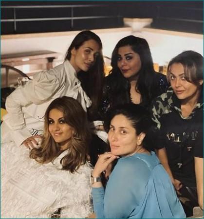 गर्ल गैंग के साथ पार्टी करते नजर आईं करीना कपूर खान