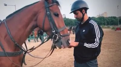 Vicky is learning Horse riding for the film 'Takht', will be seen playing this character