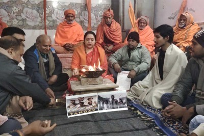 Saints protesting against web series 'Tandav'