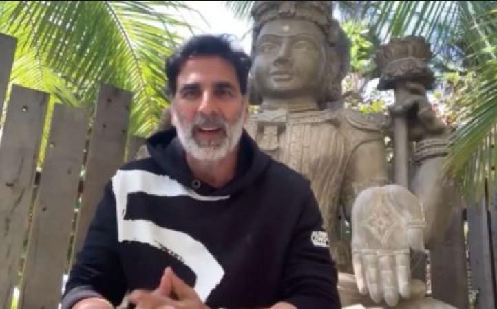 अक्षय ने दिया राम मंदिर निर्माण के लिए दान और फैंस से की यह अपील