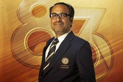 Pankaj Tripathi playing former manager Man Singh in film 83