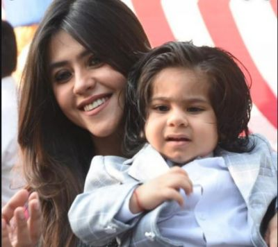 Picture of Ekta Kapoor's son surfaced for first time, many stars arrived at birthday party