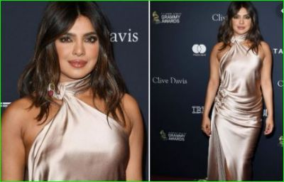 Priyanka Chopra looks attractive at the Grammy Awards, pictures went viral