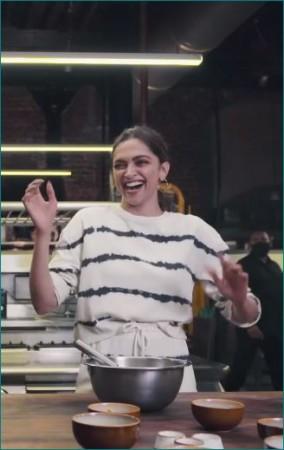Video: किचन में गरबा करते नजर आईं दीपिका पादुकोण
