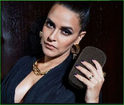 Neha Dhupia is happy to complete two decades in Bollywood industry