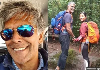 At the age of 54, Milind Soman learned this work, fans praised