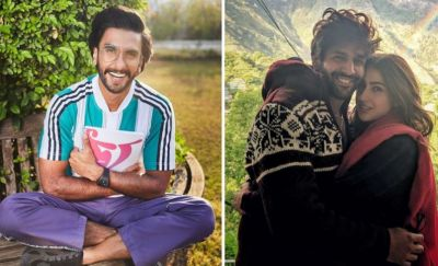 Ranveer Singh remarked on Sara-Kartik's cosy photo