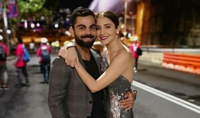 See this Romantic photo of Captain Virat with wife after his win over Bangladesh
