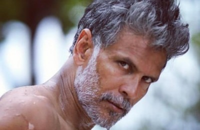 Milind Soman shares video of mother doing push-ups, Watch here