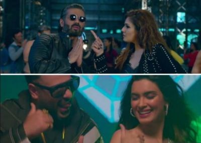 Shehar Ki Ladki Out: In the film's new song, Badshaah-Diana, apart from Raveena-Sunil, also showed off the blaze