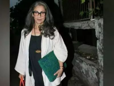 Dimple Kapadia, in this mood at the age of 62, places legs on the director's shoulder, and then...