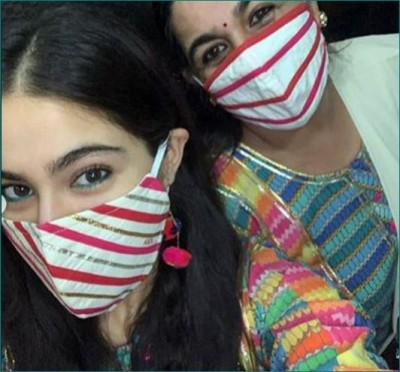 Bollywood Celebs seen in trendy and fancy masks