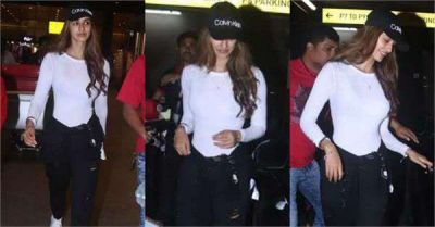 Fans get Injured on Seeing The Stunning Look Of Disha At Airport, Photos Went Viral