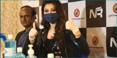 Urvashi Rautela advised fans to wear masks