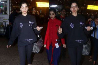 Khushi  Kapoor returns from vacation, check out the beautiful pic here