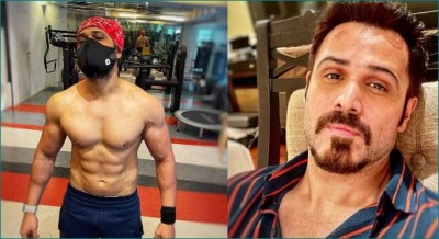 Emraan Hashmi sweating profusely for 'Tiger 3'
