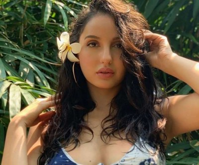 Seeing Nora Fatehi's move in the saree, users said,