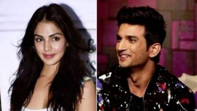 A big reveal about Riya Chakraborty's birthday was given by Sushant