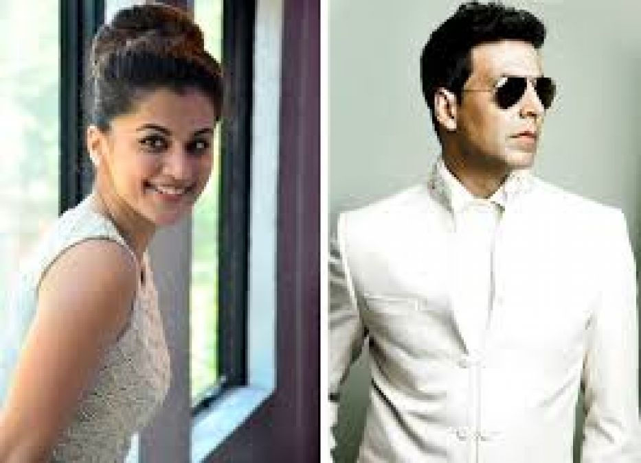 Tapsee Surrender Ahead of Akshay Kumar's 'Richness'; see reply!