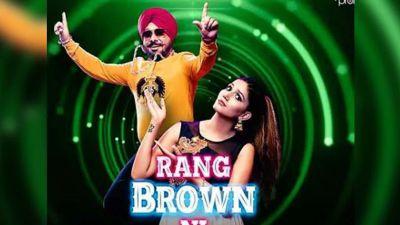 Sapna's new song 'Rang Brown Nee' trends on the internet, 12 million cross-views!