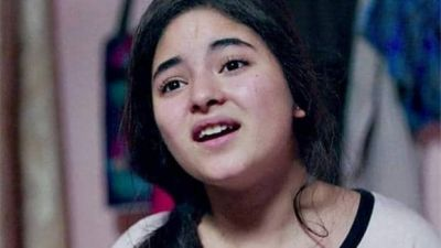 Once again Zaira Wasim grabs the spotlight, stirred sensation by her new post
