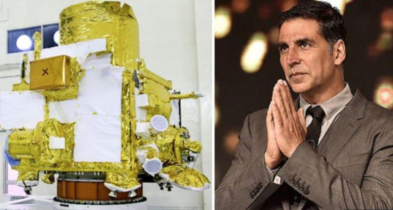 चंद्रयान 2 के लॉन्च पर अक्षय ने दी ISRO को शुभकामना..
