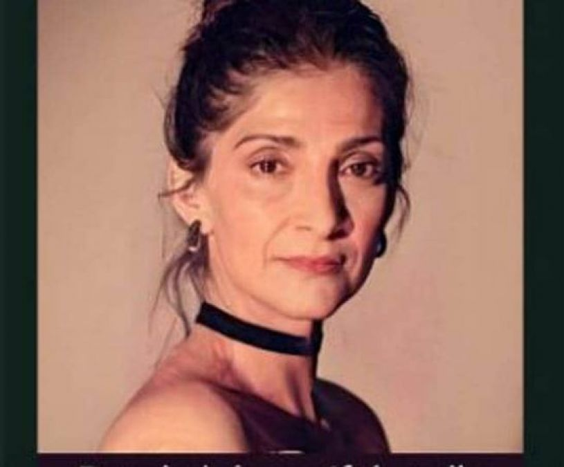 Premature old-age Sonam Kapoor, share this lewd picture of herself!