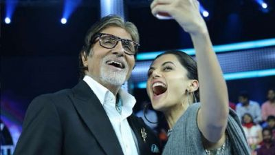 Tapsee sent This special message to Big B, he answered - will celebrate Diwali together!