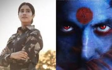 'Gunjan Saxena' and 'Laxmi Bomb' to clash on Independence day